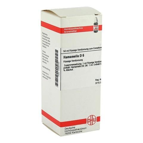 HAMAMELIS D 6 Dilution 50 Milliliter N1