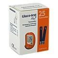 GLUCO TEST Plus Blutzuckerteststreifen 25 Stück