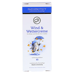 WIND & WETTER Creme für Kinder LSF 15 75 Milliliter - Rückseite