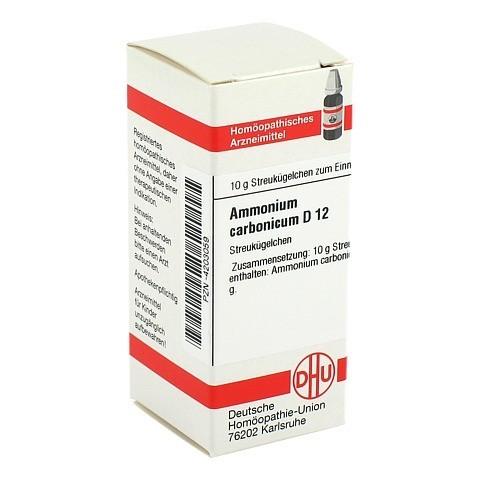 AMMONIUM CARBONICUM D 12 Globuli 10 Gramm N1