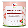FOR YOU Eiwei� Power Erdbeere 750 Gramm