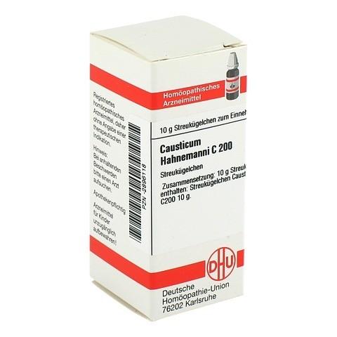 CAUSTICUM HAHNEMANNI C 200 Globuli 10 Gramm N1
