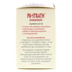PK STRATH Eisenhefe Tabletten 140 Stück - Rechte Seite