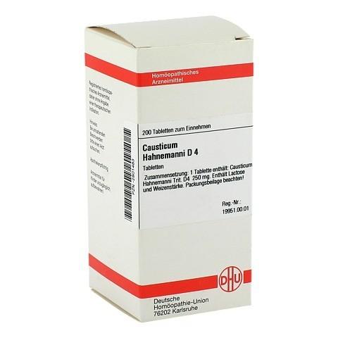 CAUSTICUM HAHNEMANNI D 4 Tabletten 200 Stück N2