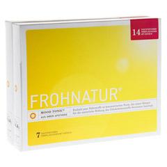FROHNATUR Mood Tonic Trinkfläschen m.Kapseln 14 Stück