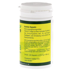 ACEROLA KAPSELN nat�rl.Vitamin C 120 St�ck - Rechte Seite