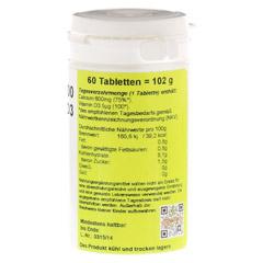 CALCIUM 600 mg+D3 Tabletten 60 Stück - Rechte Seite