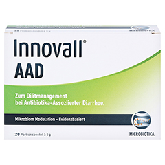 INNOVALL Microbiotic AAD Pulver 28x5 Gramm - Vorderseite