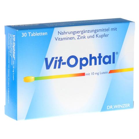 VIT OPHTAL mit 10 mg Lutein Tabletten 30 St�ck