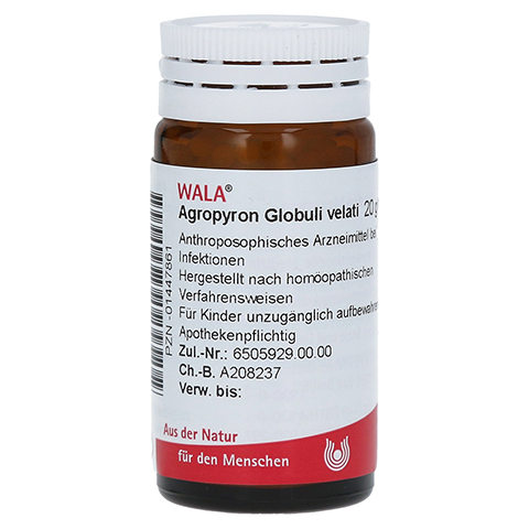AGROPYRON Globuli Velati 20 Gramm N1