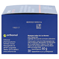 ORTHOMOL Junior C plus Granulat 30 St�ck - Linke Seite