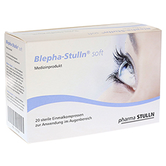 BLEPHA-STULLN soft Einmal-Augenkompressen steril 20 Stück