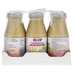 HIPP Trinknahrung Milch m.Banane hochkalorisch 6x200 Milliliter - Vorderseite