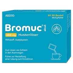 Bromuc akut 600mg Hustenlöser 20 Stück N1