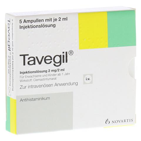 TAVEGIL Injektionslösung 2 mg/2 ml Ampullen 5x2 Milliliter N1