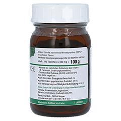 CHLORELLA MIKROALGEN 400 mg Sanatur Tabletten 250 Stück - Linke Seite