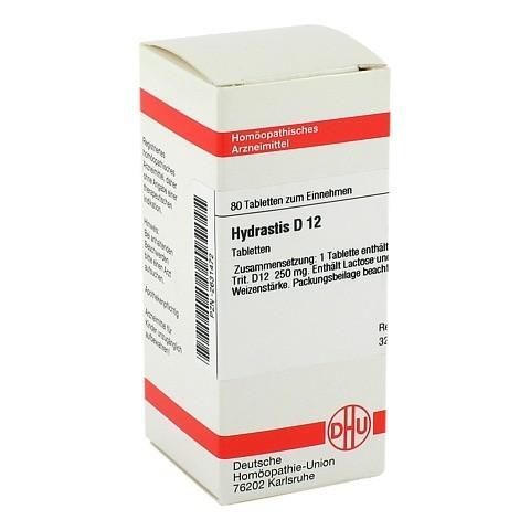 HYDRASTIS D 12 Tabletten 80 St�ck N1