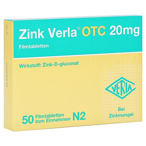 Zink Verla OTC 20mg 50 St�ck N2