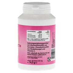 CHONDROITIN Glucosamin Kapseln 120 Stück - Rechte Seite