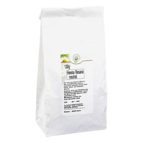 HENNA neutral Resana Pulver 130 Gramm