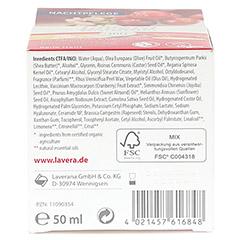 LAVERA regenerierende Nachtpflege Cranberry Creme 50 Milliliter - Unterseite
