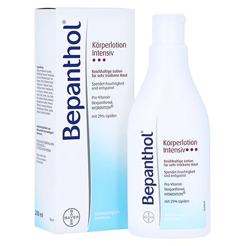 BEPANTHOL Intensiv Körperlotion Flasche 200 Milliliter