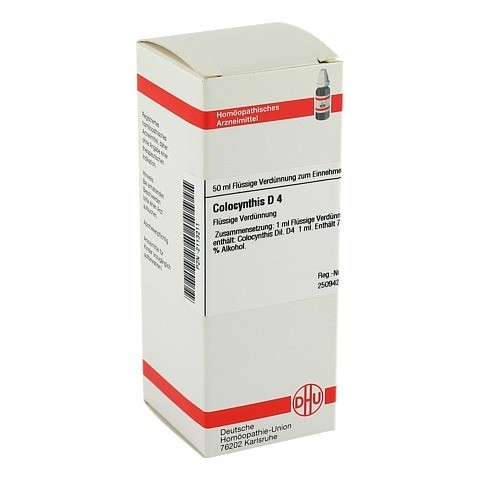 COLOCYNTHIS D 4 Dilution 50 Milliliter N1