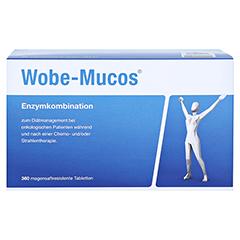 WOBE-MUCOS magensaftresistente Tabletten 360 Stück - Vorderseite