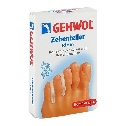 GEHWOL Polymer Gel Zehen Teiler klein 3 Stück