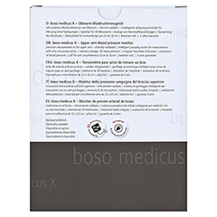 BOSO medicus X vollautomat.Blutdruckmessgerät 1 Stück - Rückseite
