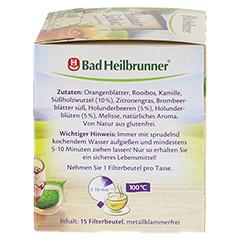 BAD HEILBRUNNER Tee Holunder Süßholz Filterbeutel 15 Stück - Rechte Seite