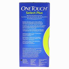 ONETOUCH SelectPlus Blutzuckermesssystem mg/dl 1 St�ck - Linke Seite