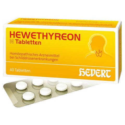 HEWETHYREON N Tabletten 40 Stück N1