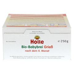 HOLLE Bio Babybrei Grieß 250 Gramm - Oberseite