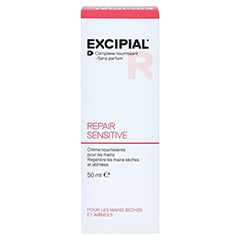 EXCIPIAL Repair Sensitive Creme 50 Milliliter - R�ckseite