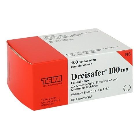 Dreisafer 100mg 100 St�ck N3