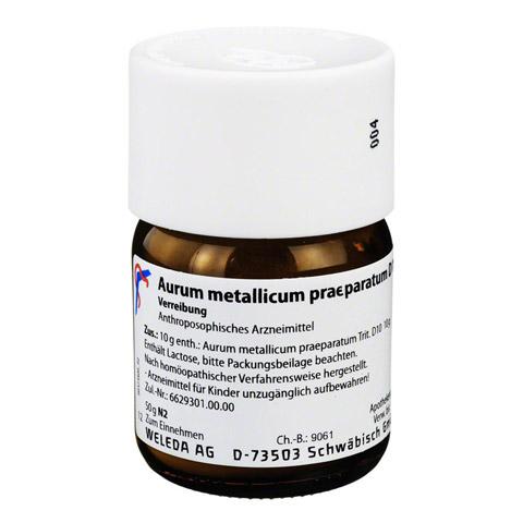 AURUM METALLICUM PRAEPARATUM D 10 Trituration 50 Gramm N2
