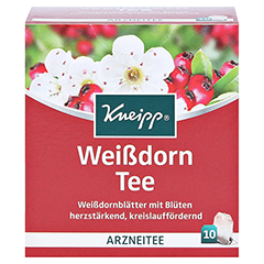 KNEIPP TEE Weißdornblüten Btl. 10 Stück - Vorderseite