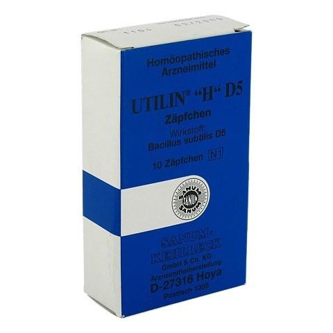 UTILIN H D 5 Suppositorien 10 Stück N1