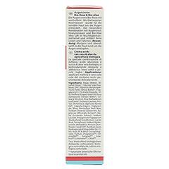 LOGONA Augencreme Bio-Rose & Bio-Aloe 15 Milliliter - Linke Seite