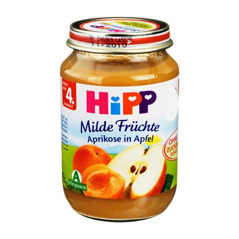 HIPP Fr�chte Aprikose in Apfel 190 Gramm