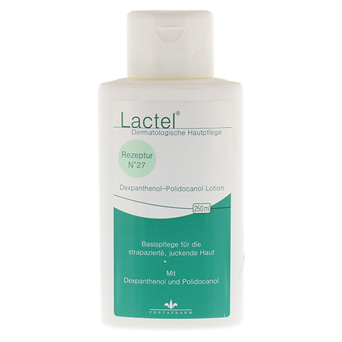 LACTEL Nr. 27 5% Dexpanthenol u. Polidocanol Lotion 250 Milliliter