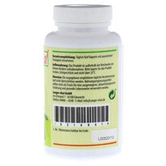 L-ARGININ 2894 mg/TG plus Vitamin C und Zink Kaps. 120 Stück - Rechte Seite