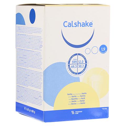 CALSHAKE Vanille Beutel Pulver 7x87 Gramm