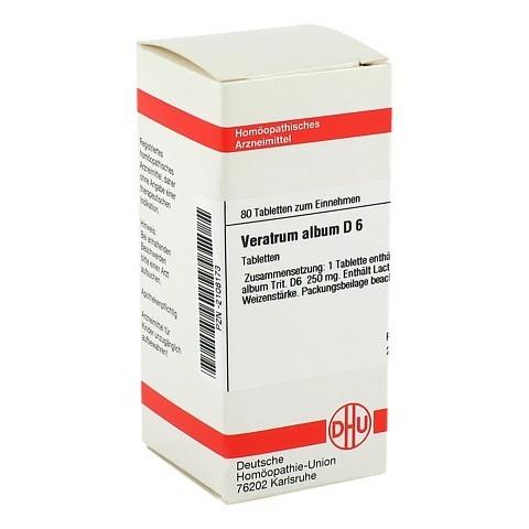 VERATRUM ALBUM D 6 Tabletten 80 St�ck N1