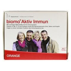 BIOMO Aktiv Immun Trinkfl.+Tab.7-Tages-Kombi 1 Packung - Vorderseite