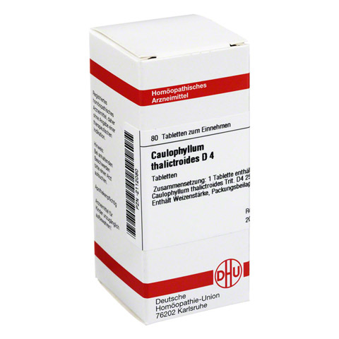 CAULOPHYLLUM THALICTROIDES D 4 Tabletten 80 Stück N1