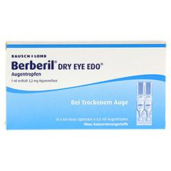 BERBERIL Dry Eye EDO Augentropfen 10x0.6 Milliliter - Vorderseite