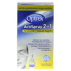 OPTREX ActiSpray 2in1 f.juckende+tränende Augen 10 Milliliter - Vorderseite