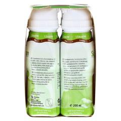 SUPPORTAN DRINK Cappuccino Trinkflasche 4x200 Milliliter - Linke Seite